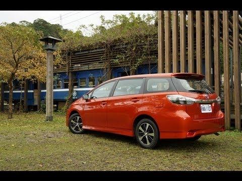 2013 Toyota Wish 2.0小改款試駕
