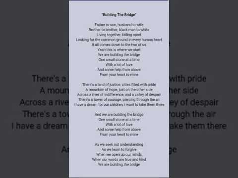REO Speedwagon building the bridge lyrics