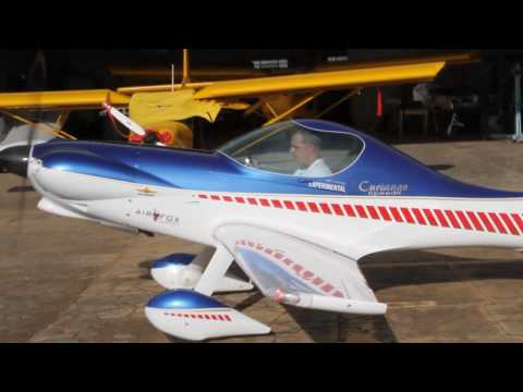 Curiango Speed 2.3 VW - by Airfox Ultraleves - First Flight - Primeiro vôo - PU- ELV