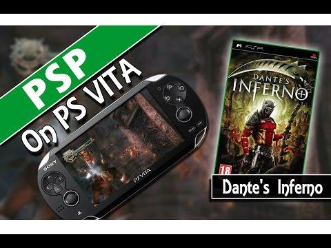 PSP on PS VITA: Dante's Inferno (Classic Gaming On PSVita)
