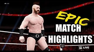 WWE 2K16 - Sheamus vs Ryback | Epic Match Highlights |
