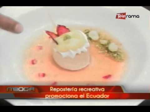 Repostería recreativa promociona el Ecuador