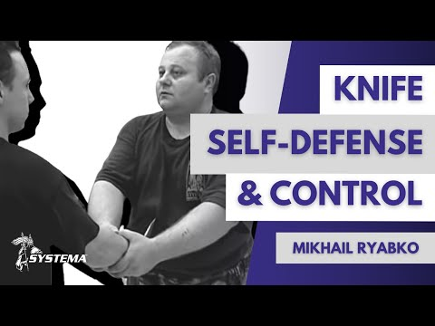 Knife, self-defense and control Mikhail Ryabko in Toronto 2001 Image 1