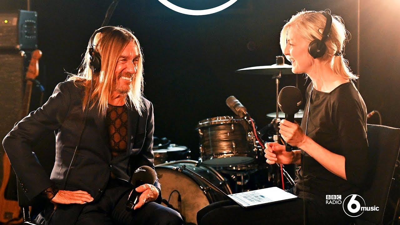 Iggy Pop - 「BBC Radio 6 Music Live Room」ライブ&インタビュー(Full Ver.)51分の映像を公開 thm Music info Clip