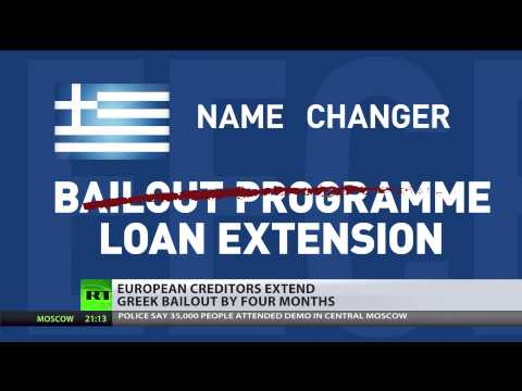 Financial Lifeline: Greece reaches deal with Eurozone to extend bailout loan