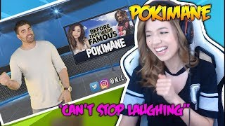 POKIMANE Reacts To Her Before They Were Famous and it isn