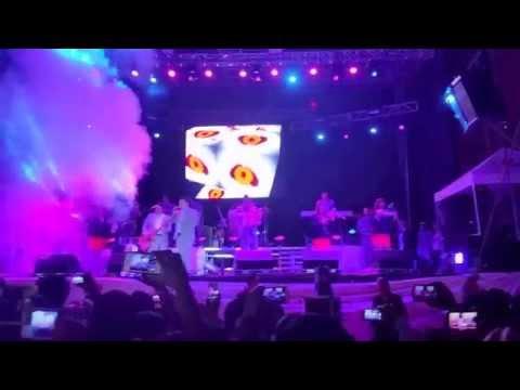 Los Ángeles Azules en la Feria Cadereyta 2014