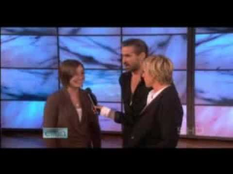 ELLEN DUNK TANK colin farrell DUNKED justen A HOT GIRL