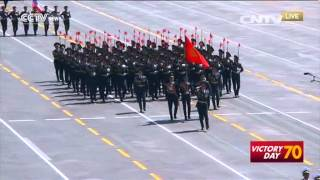 1,000 foreign troops participate in China's military parade