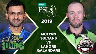 Match 10: Full Match Highlights Multan Sultans Vs Lahore Qalandars | HBL PSL 4 | HBL PSL 2019
