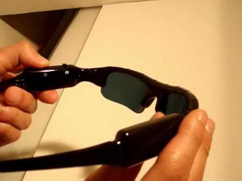 Hi Resolution Self recording Hidden Spy Camera Sunglasses