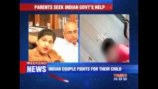 Indian couple fights for their child in UK