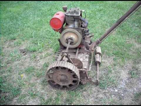 old mower