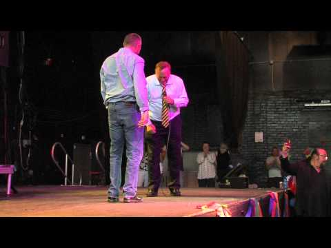 Utah Senator proposes to longtime partner at DOMA decision party