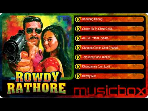 Rowdy Rathore Music Box video