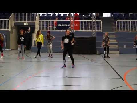 Jolina 3.platz Solo Girls Junioren Hiphop Deutschland Cup 2014 Essen video