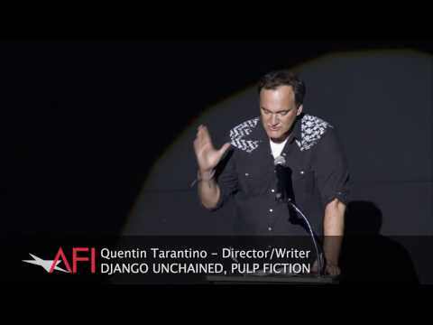 Quentin Tarantino introduces the Bruce Dern tribute reel at AFI FEST presented by Audi