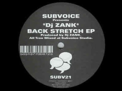 DJ Zank - Untitled ( Back Stretch - A1 )