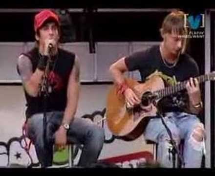 Lostprophets - Burn Burn (Live Acoustic)