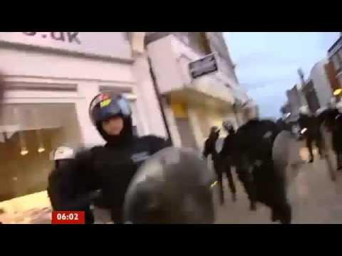 August 8, 2011 | London Looting and Riots coverage | BBC News | Day 2 |
