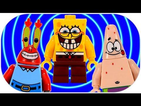 LEGO Krusty Krab Adventures 3833 SpongeBob SquarePants Review
