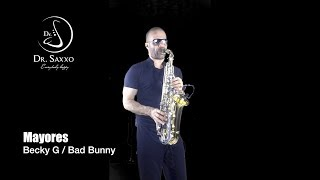 MAYORES BECKY G BAD BUNNY SAX COVER DR SAXXO