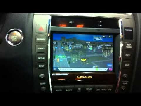 Installing Aftermarket Navigation For 2010 Lexus Es350