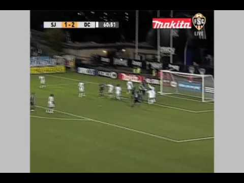 DC United at San Jose Earthquakes - Game Highlights 07/25/09 Video