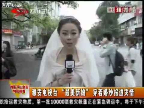 Chinese Journalist Reports on Earthquake