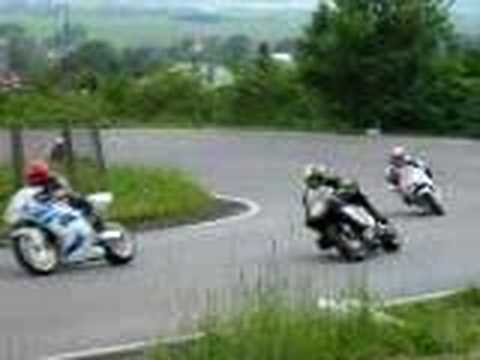 video taken in May 2003 on one of the last natural circuits in Europe during famous race called 300 zatacek Gustava Havla, more info at http://300zgh.blogspo...