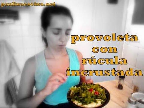 Provoletta con rucula incrustada - Paulina Cocina T01 #08
