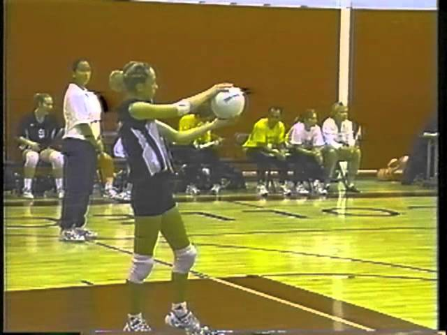 1999 Golden West College Women's Volleyball State Championship 3rd Round vs Delta