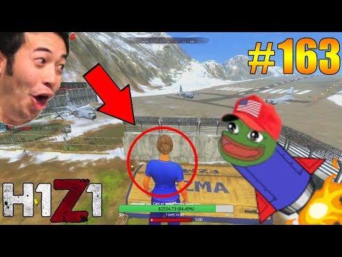 THUMP 100METER SUPERJUMP IN H1Z1! H1Z1 - Oddshots & Funny Moments #163