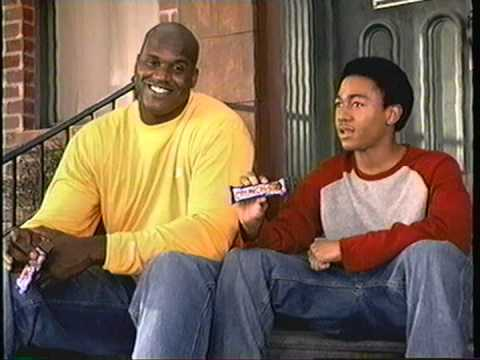 Nestle Crunch Commercial Nestle Crunch With Shaq
