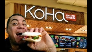 Koha Pacific Kitchen,Bao spicy pork food review