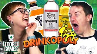 DRINKOPOLY - Irish People Try Drunk Monopoly | Floored Games