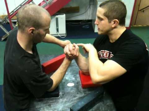 Arm Wrestling Techniques - Explaining The Top Roll Image 1
