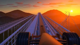 Building a Roller Coaster that literally just kills you in Planet Coaster