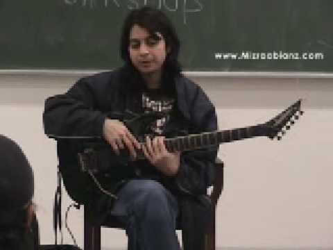 Faraz Anwar - Guitar Workshop at LUMS (Part 2)