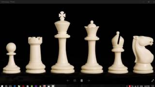 AutoCAD 3D modeling Chess pieses and Table (Part2)