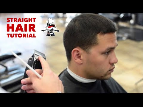 Will Stamm - Barber Tutorial | Straight Hair Fade (Part1)