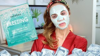 Pamper Time: Testing Out The Freezing Mask