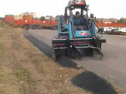 WCM Simex Skid Steer Float Attachment