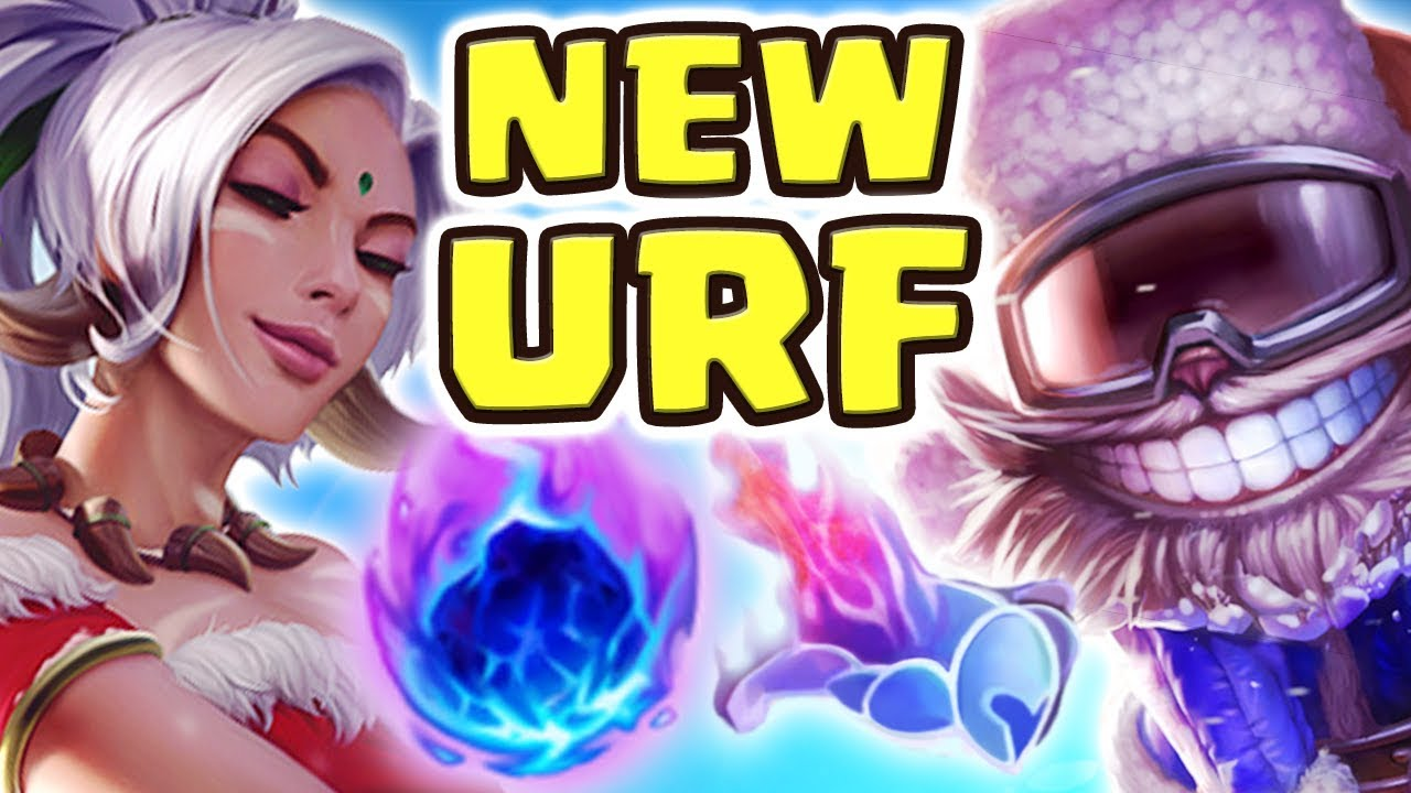 NEW URF IS ACTUALLY FUN!! 80% CDR ON EVERYONE | THE BEST URF CHAMPION?! I'M SO BANNED LOL Nightblue3