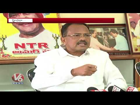 Mothkupally Narsimhulu Slams AP CM Chandrababu Naidu Over Special Status Issue | V6 News