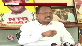 Mothkupally Narsimhulu Slams AP CM Chandrababu Naidu Over Special Status Issue