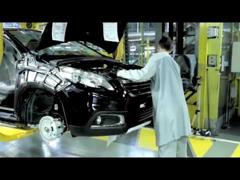 Entreprise - PSA Peugeot Citroen - Fabrication  Peugeot 2008   Made in sud Alsace
