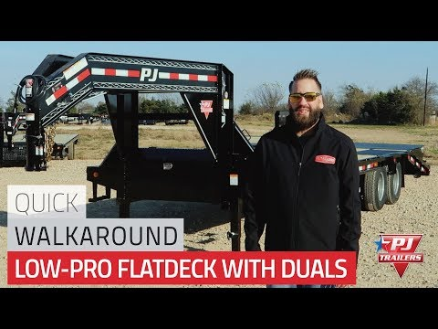 26' Low-Pro Flatdeck (LD) Quick Walkaround