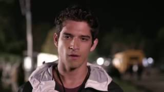 Tyler Posey cries on cue