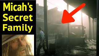 Finding Micah's Hidden Family in Red Dead Redemption 2 (RDR2): Micah Bell is a Rat